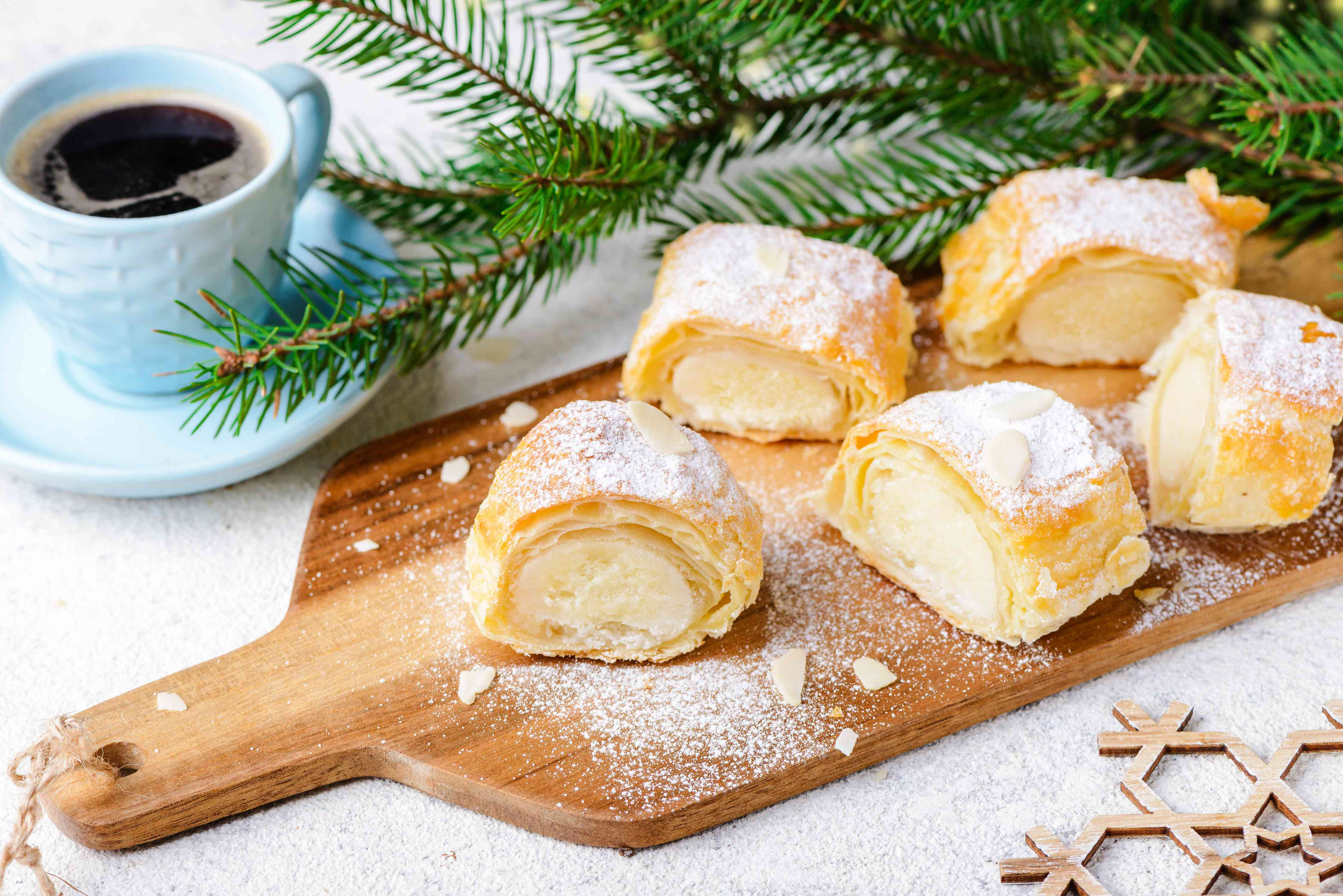 Dutch Almond Paste-Filled Pastry Log (Banketstaaf) Recipe