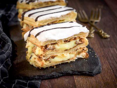 Salty Serbian Gibanica With Feta Cheese Recipe