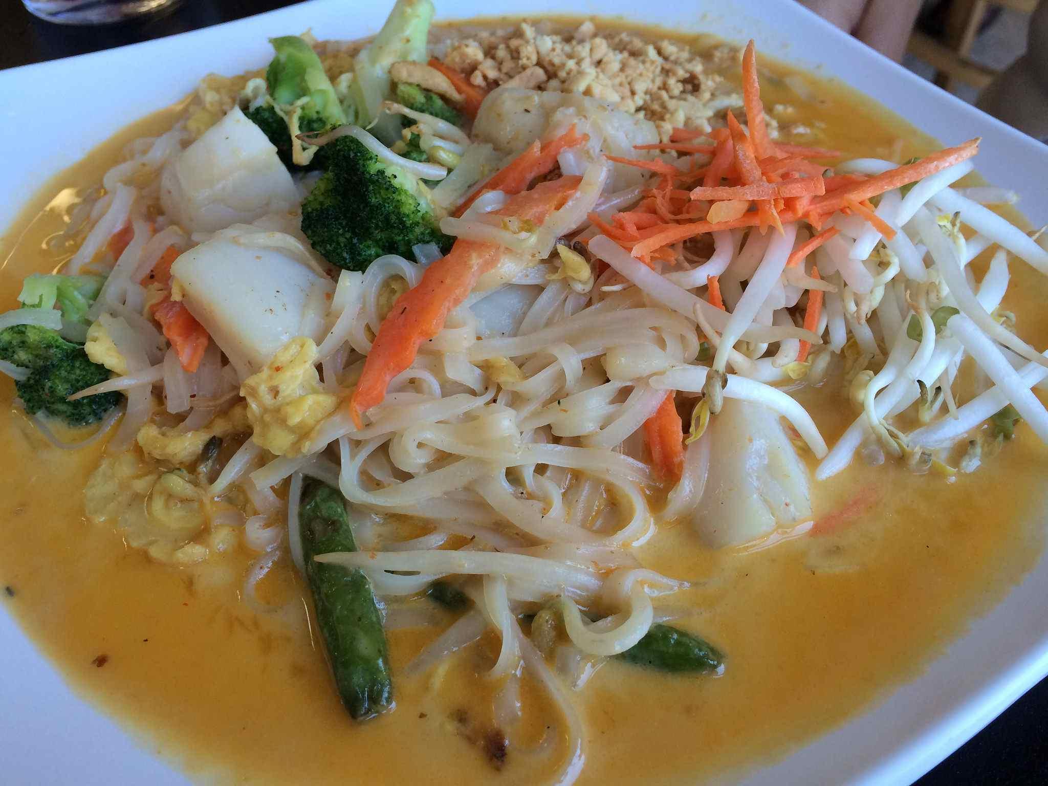 Veggie Yellow Curry -- Erb Thai Restaurant
