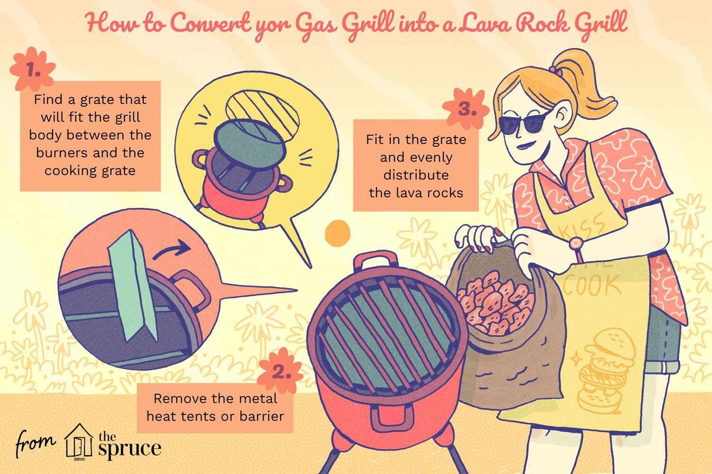 lava rocks for grill