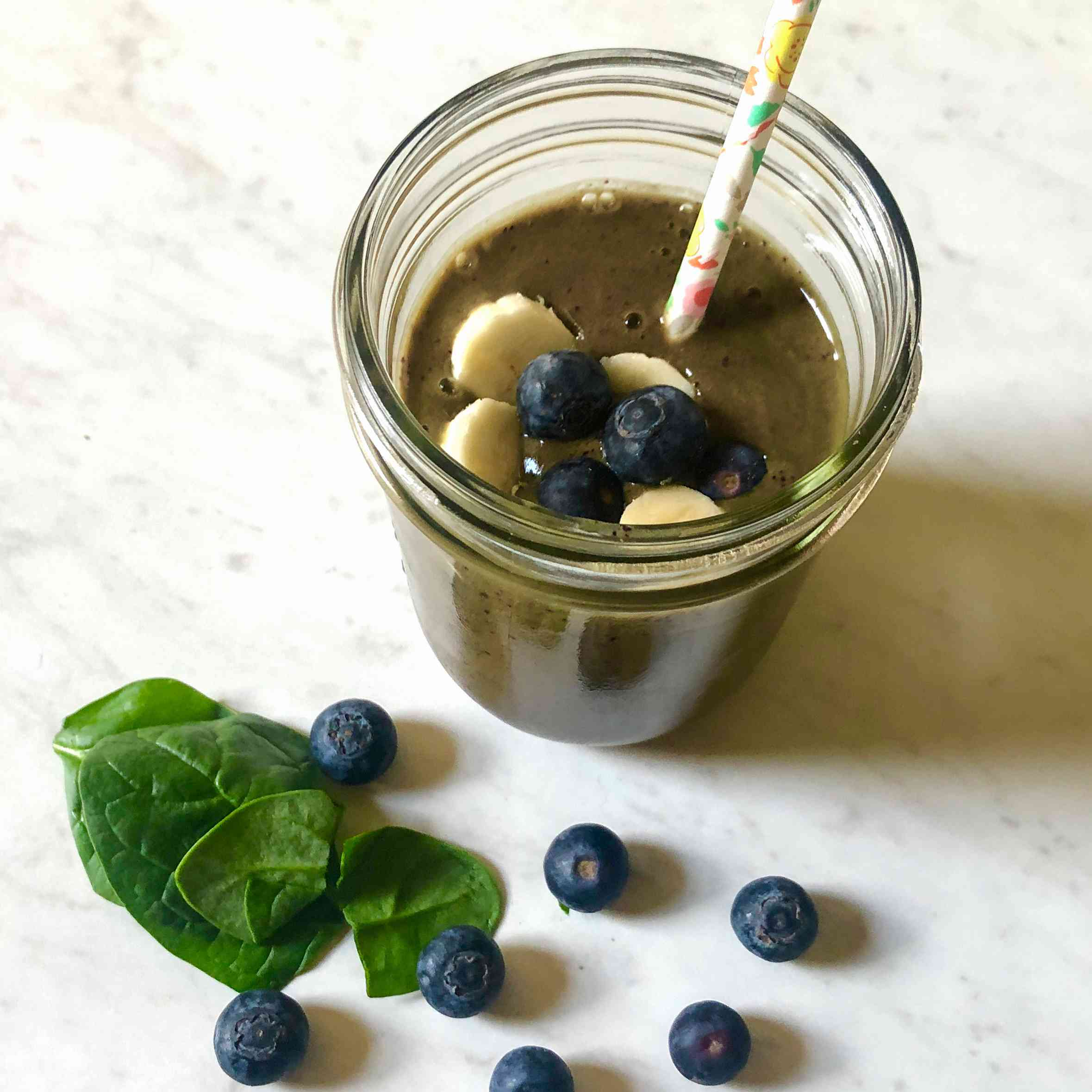Blueberry and Spinach Superfood Smoothie Tester Image