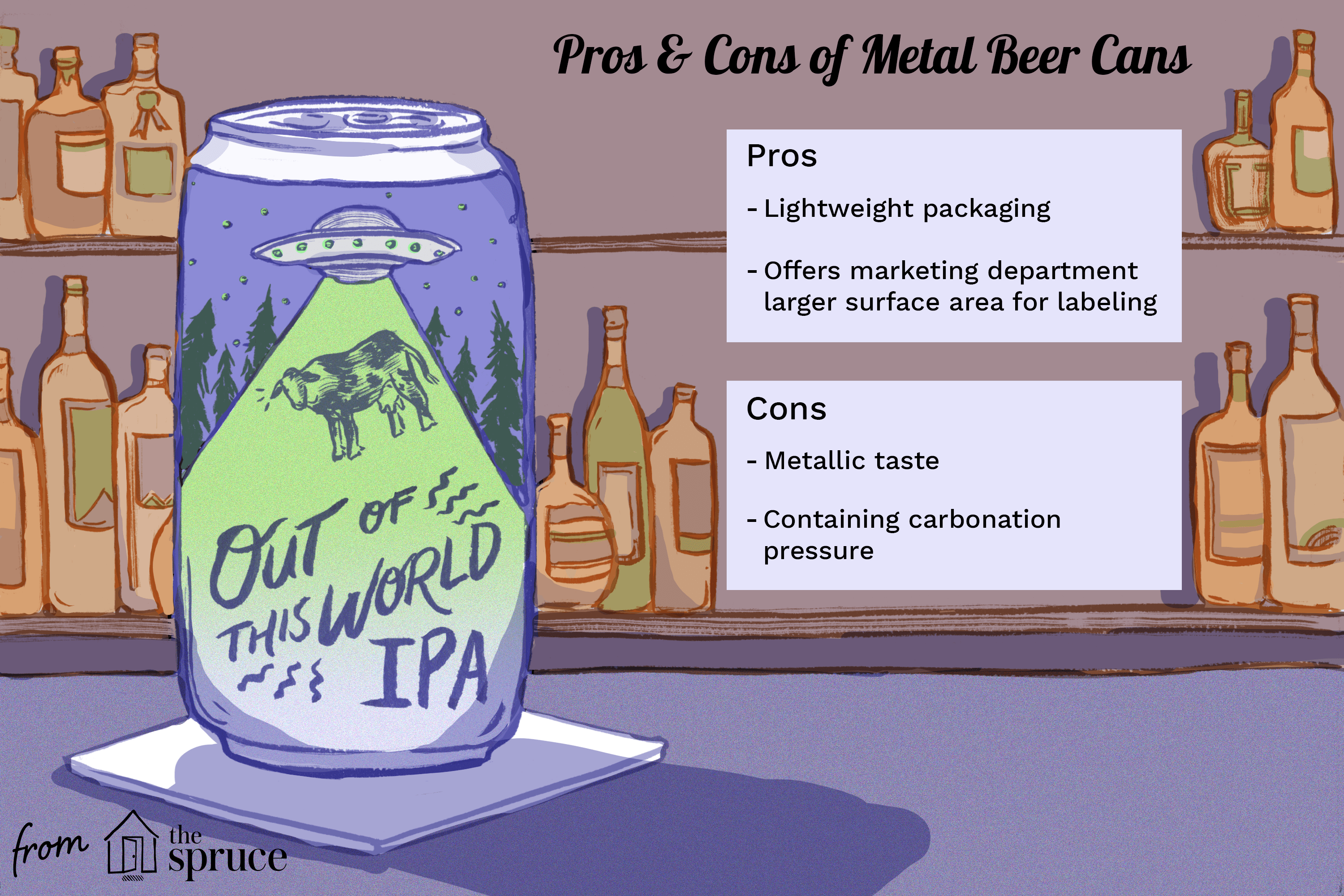 pros and cons of metal beer cans
