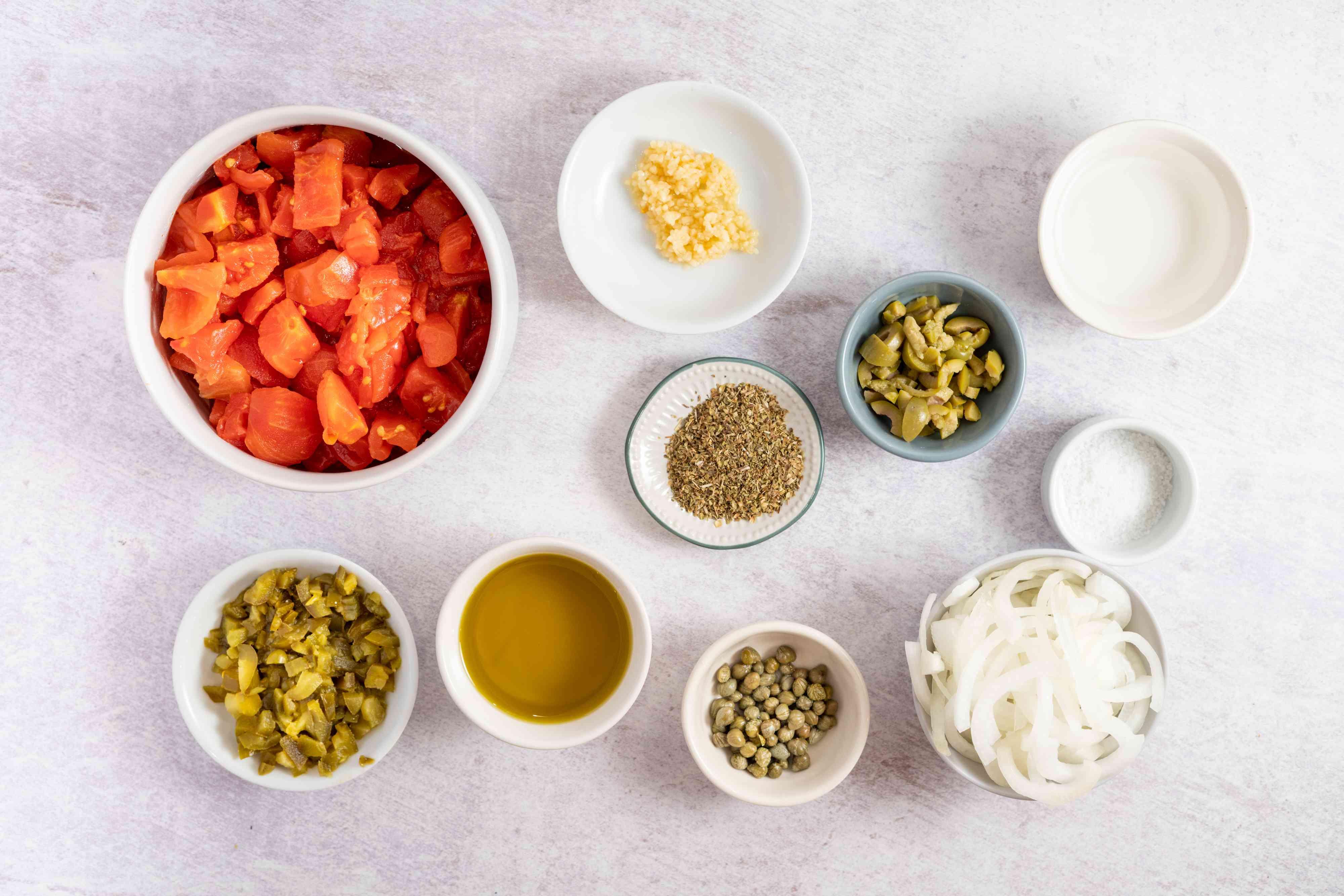 Veracruz Sauce (for Fish or Chicken) ingredients