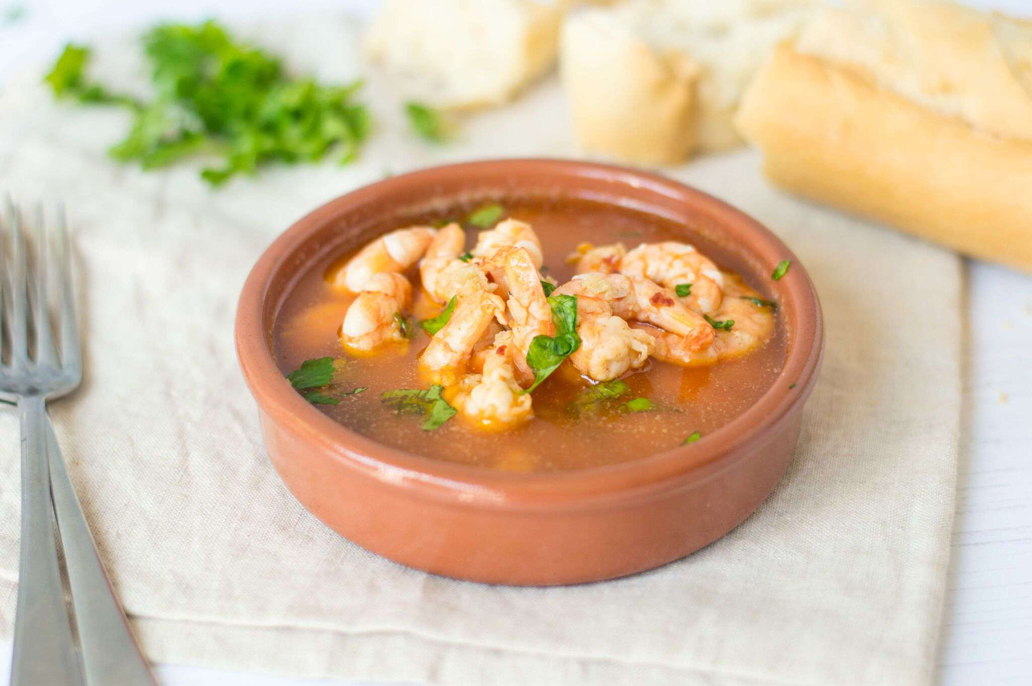 Spanish Garlic Shrimp (Gambas al Ajillo)