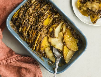 Butternut squash and apple casserole