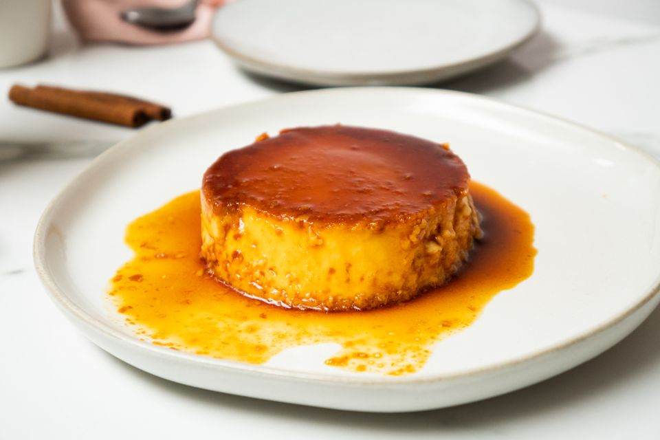 Indian caramel custard
