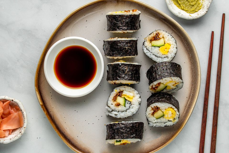 Futomaki: Fat Rolled Sushi With Vegetables