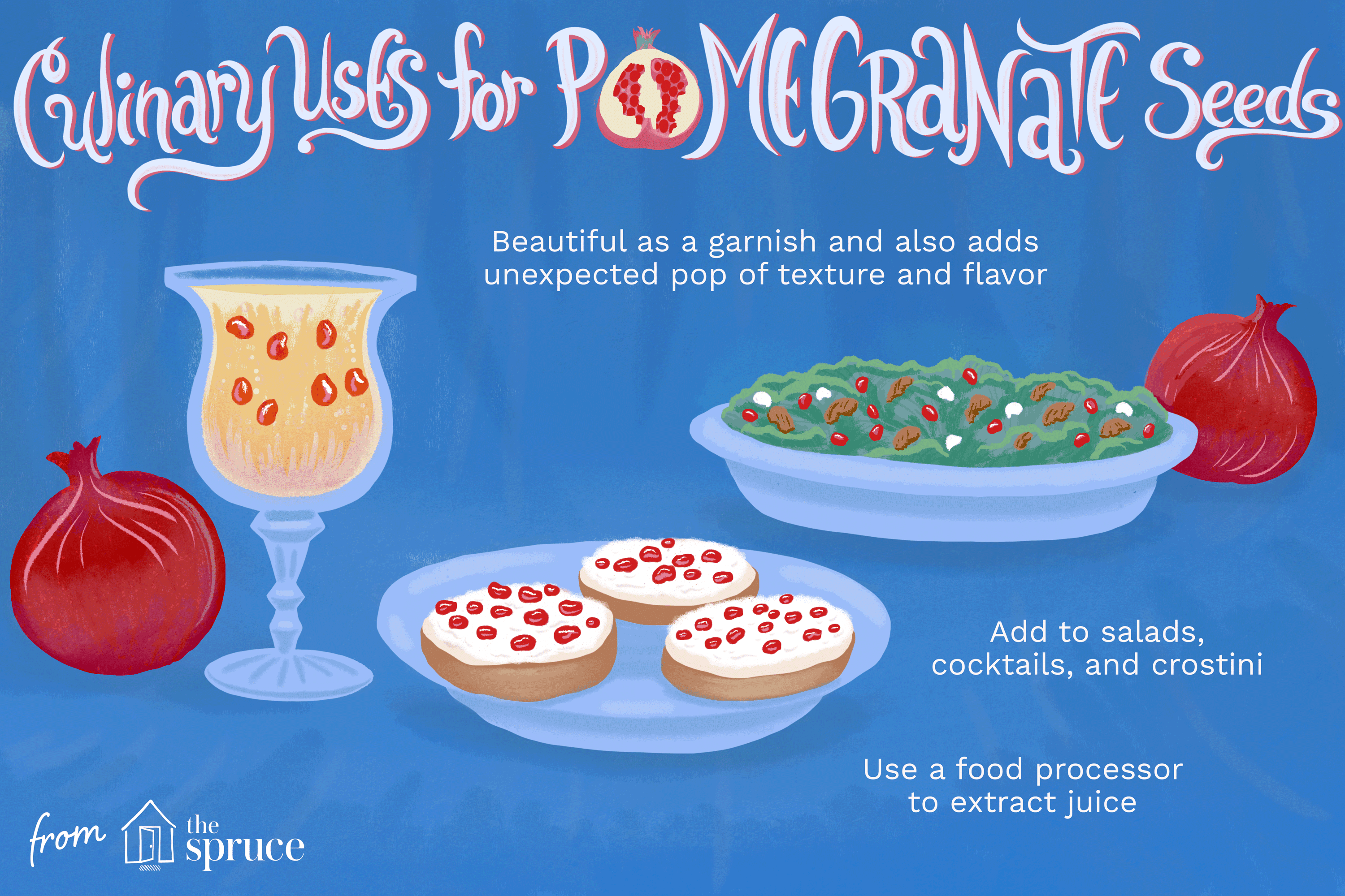 culinary uses for pomegranate seeds
