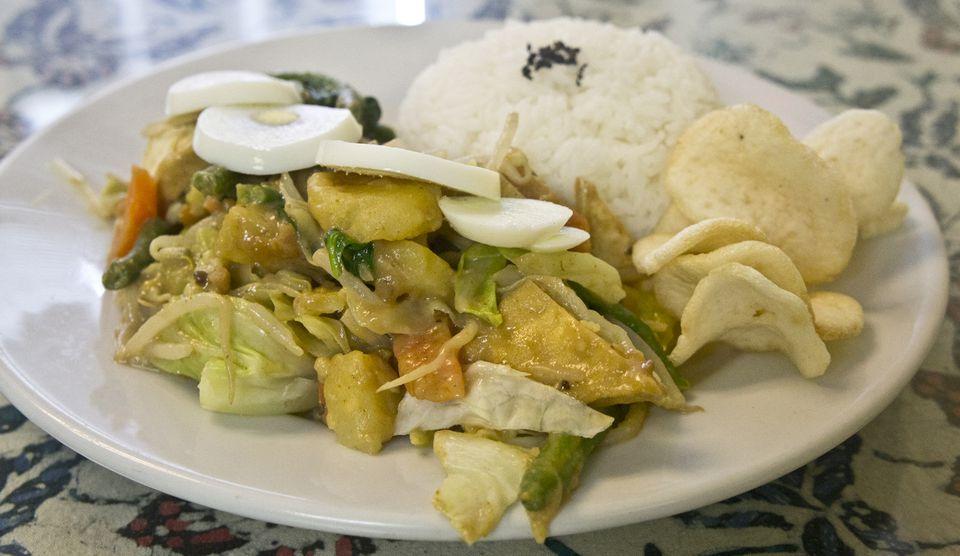 Indonesian salad