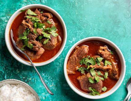 Moroccan Spiced Goat Stew Recipe