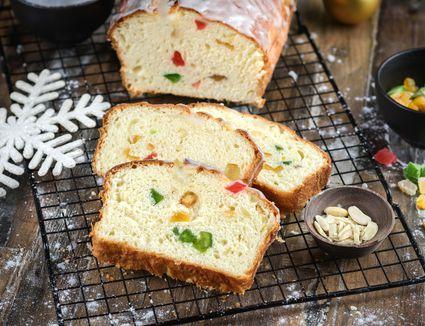 Christmas stollen sweet bread recipe