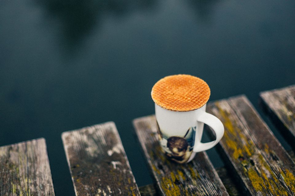 How to enjoy the classic Dutch stroopwafel.