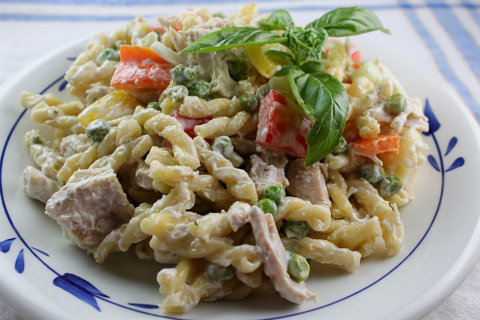 Green Goddess Chicken Pasta Salad