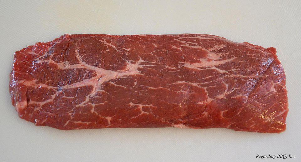 Raw Flatiron Steak