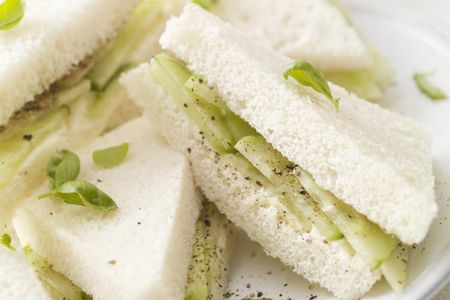 Cucumber Mint Tea Sandwiches Recipe