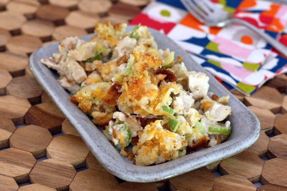 Hot Baked Chicken Salad
