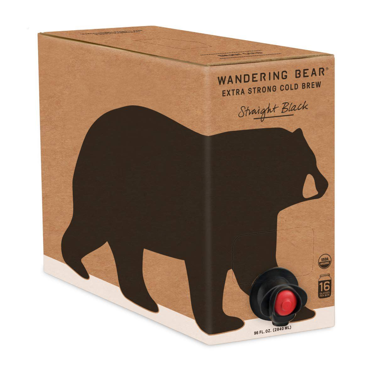 Wandering Bear Extra Strong Organic Cold Brew On Tap