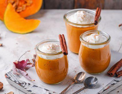 Vegan pumpkin pudding recipe