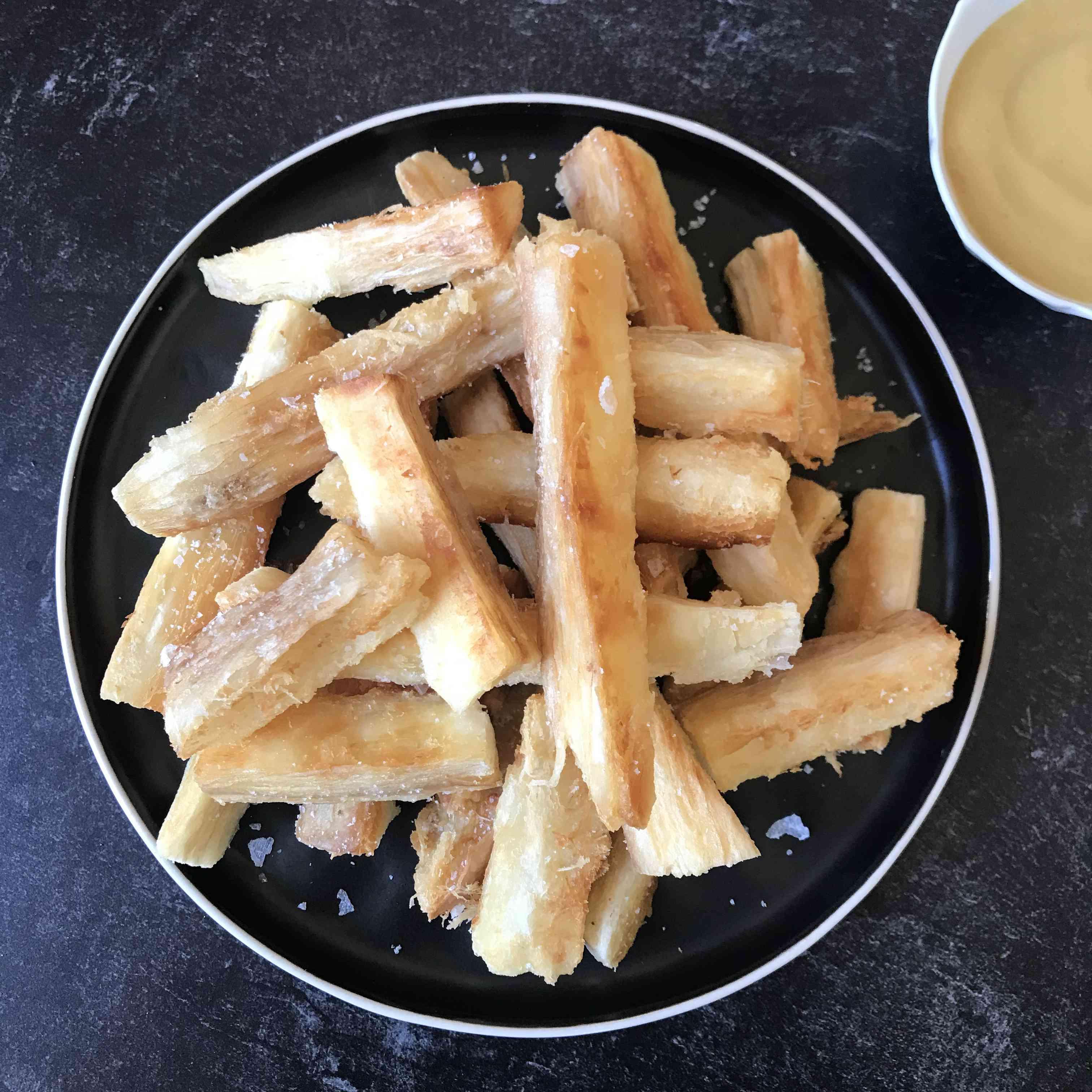 South American Yuca Fries (Yuca Frita) Test Images