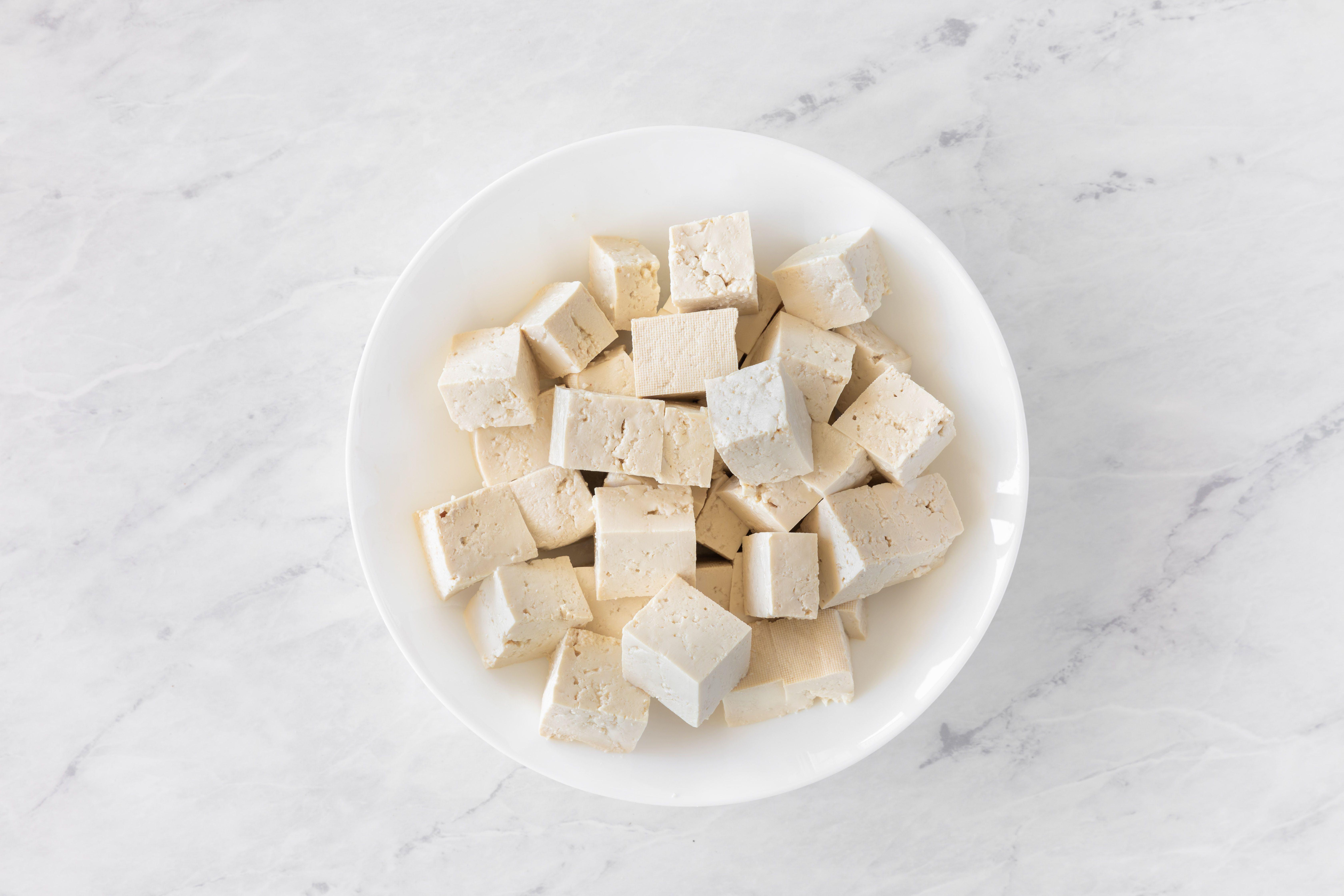 Cut the tofu