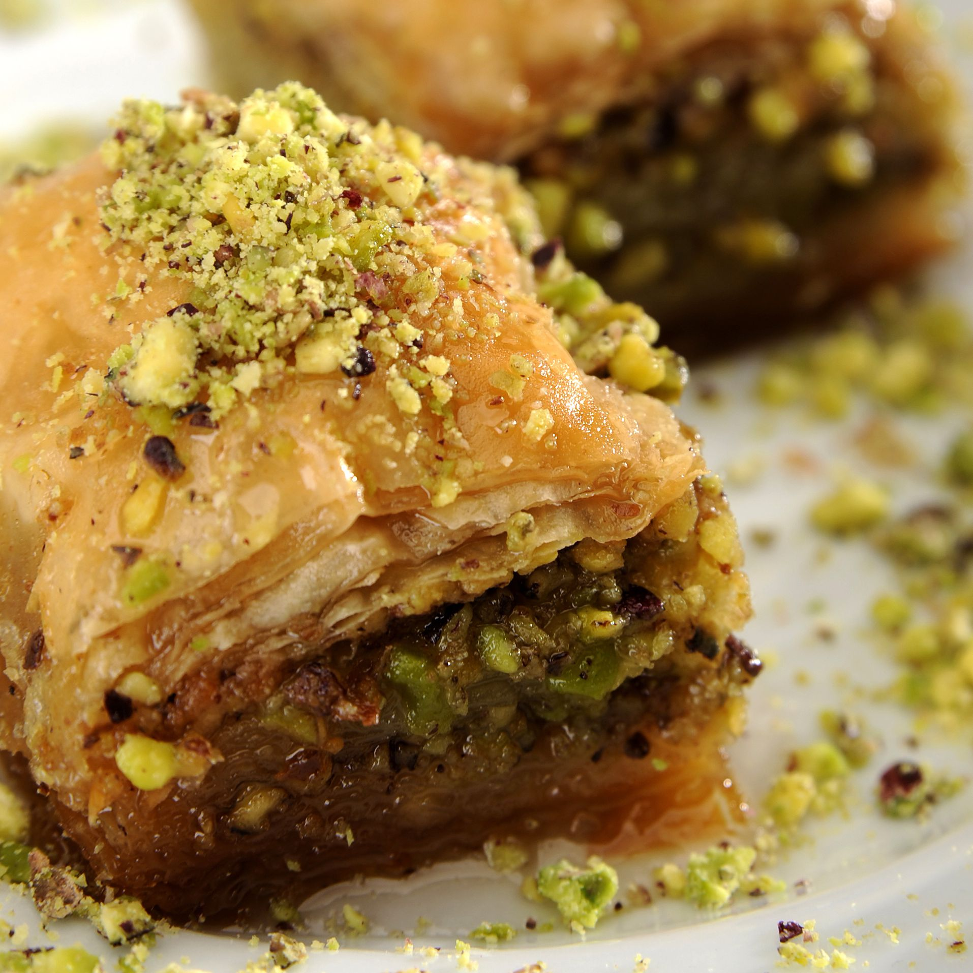 Middle Eastern Pistachio Baklava Recipe