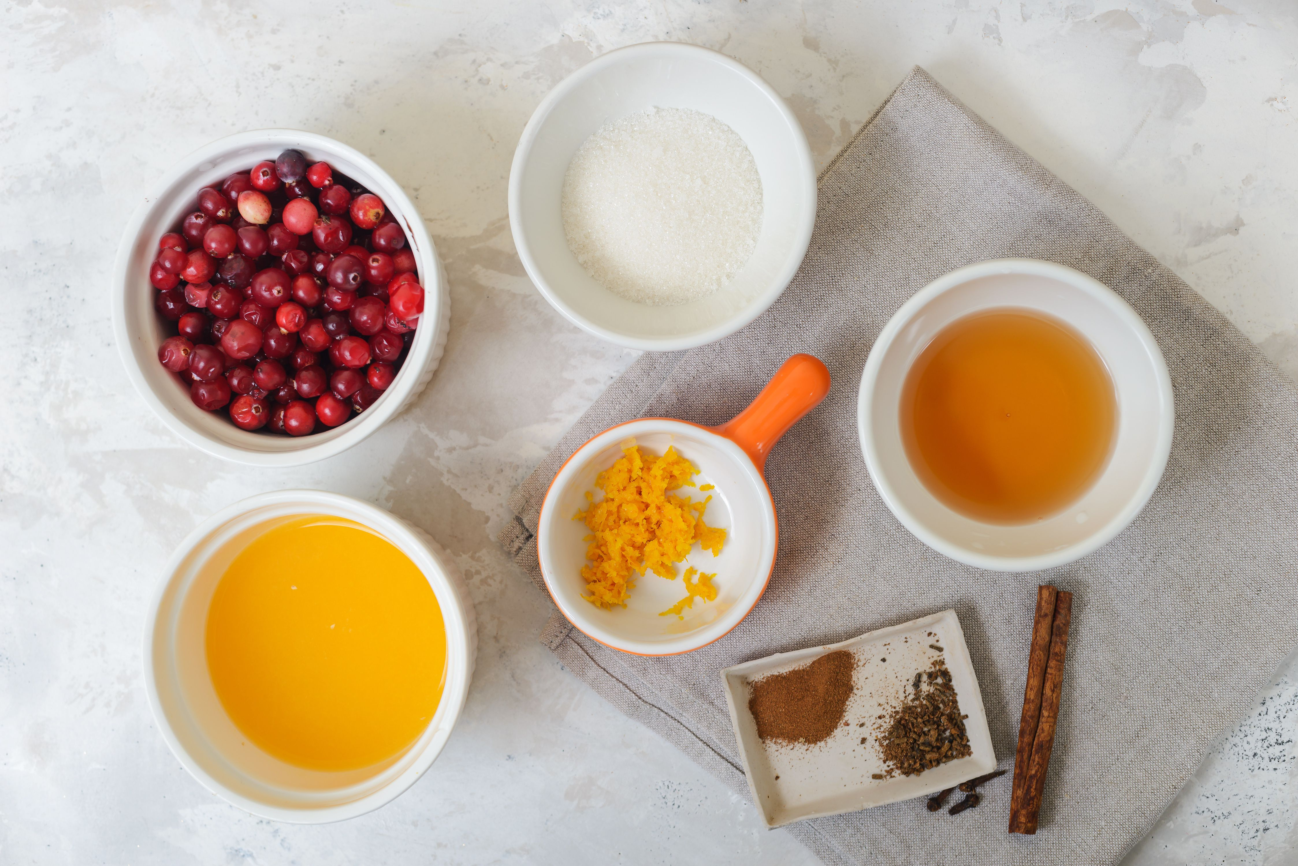 Cranberry Coulis Recipe