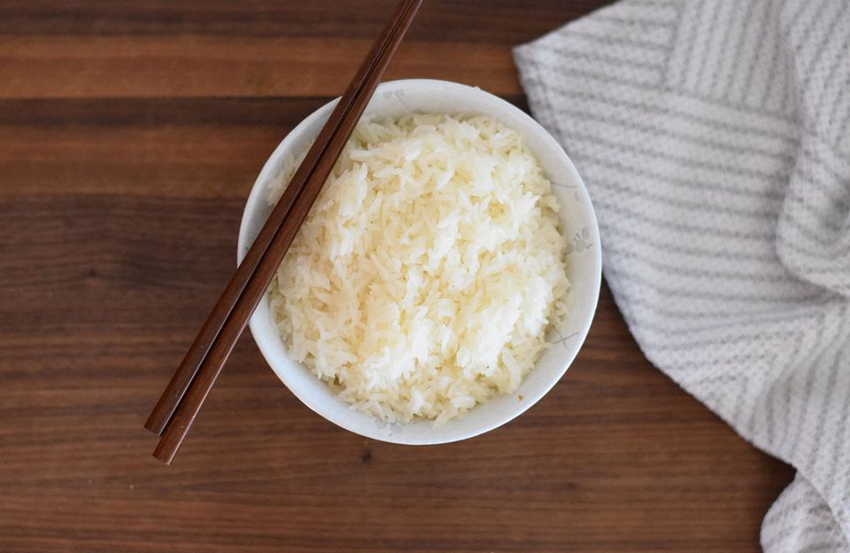 Cooked sticky rice no rice cooker