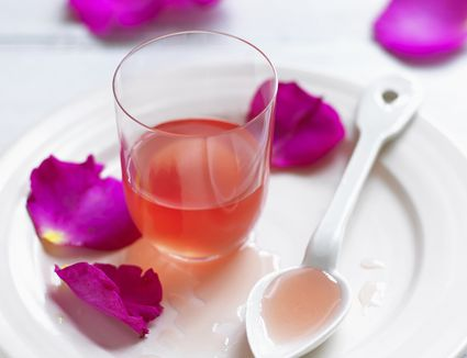 Rose Simple Syrup