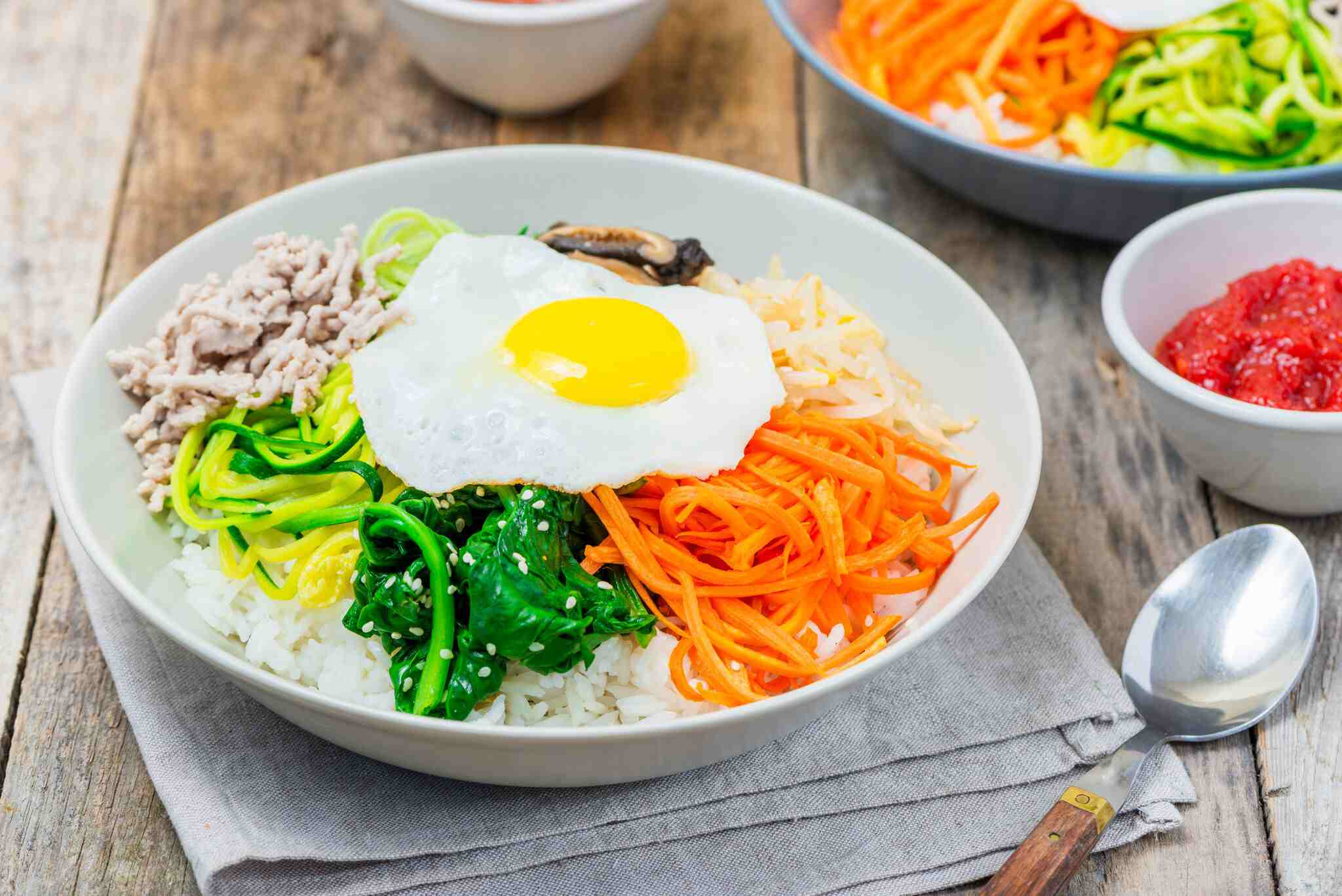 Korean Bibimbap Recipe