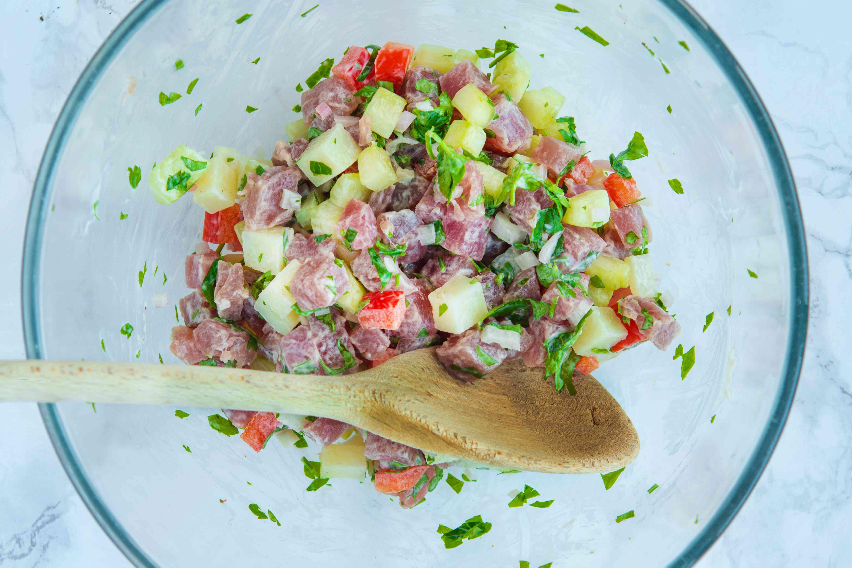 Mix tuna tartare