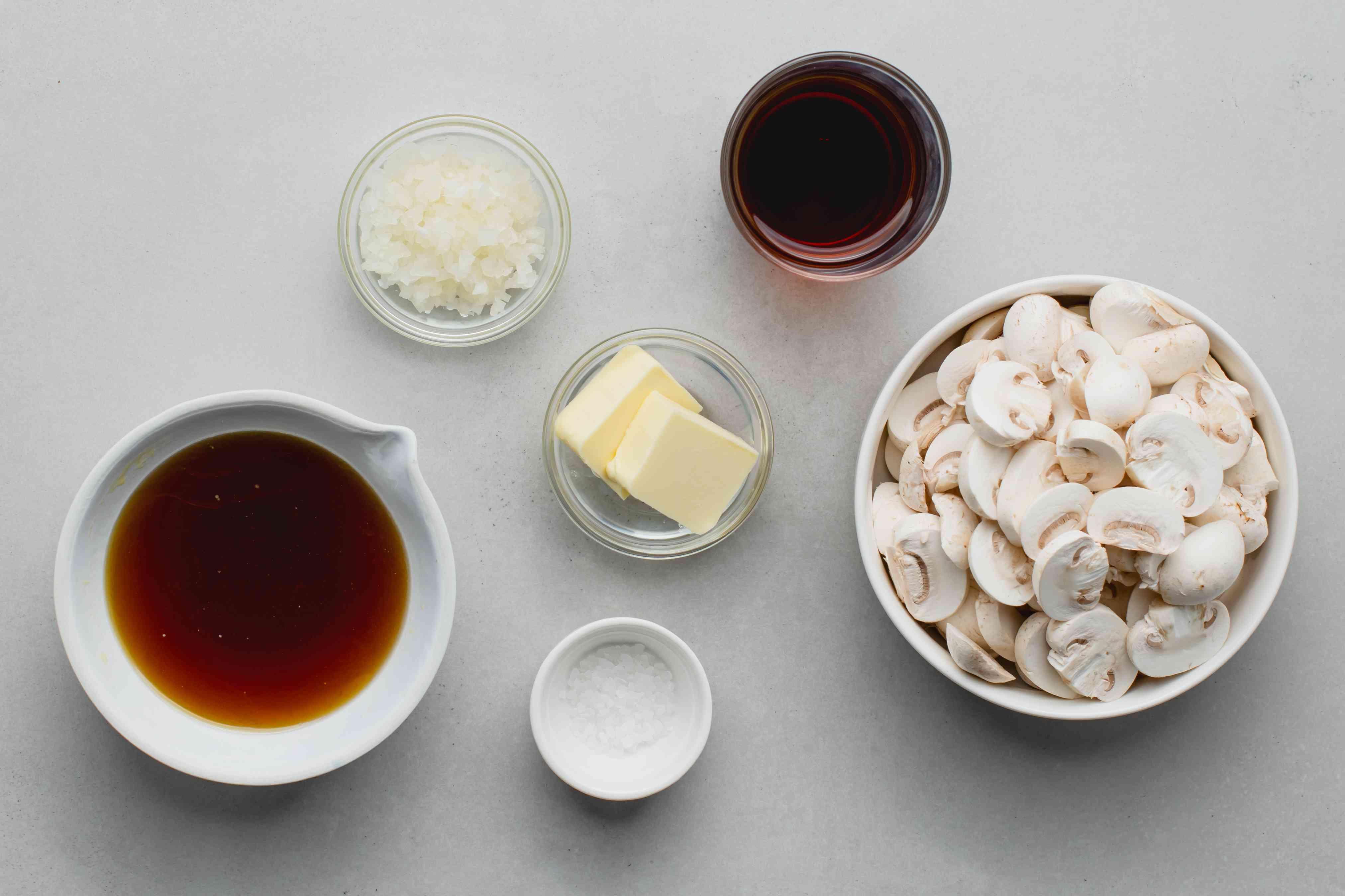 Mushroom Steak Marsala, sauce ingredients