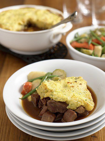 Veal Stew With Polenta