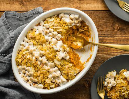 Low calorie sweet potato casserole recipe