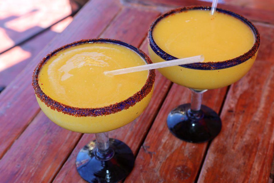 Blended Orange Margarita