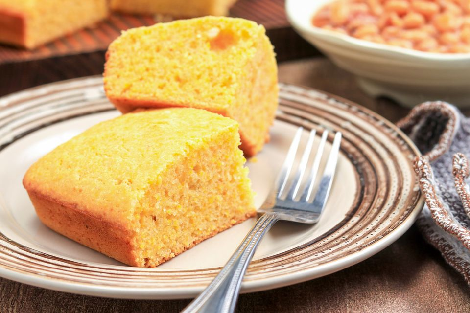 Pan de maíz fácil