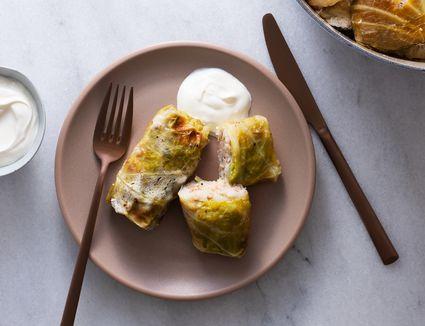 Holubtsi: Ukrainian Stuffed Cabbage