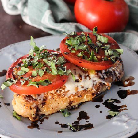 Gluten Free Caprese Chicken Recipe