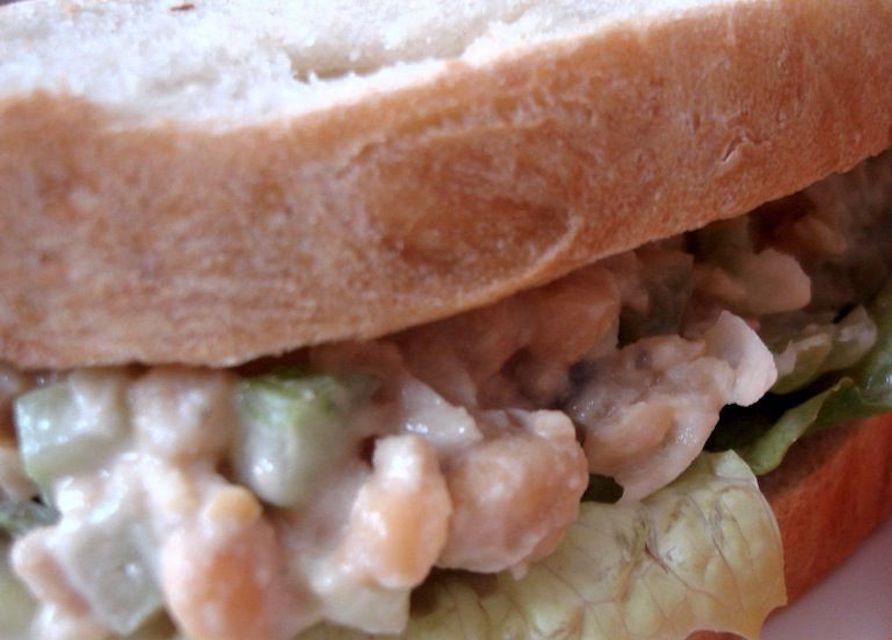 Vegetarian Chickpea Salad Sandwich