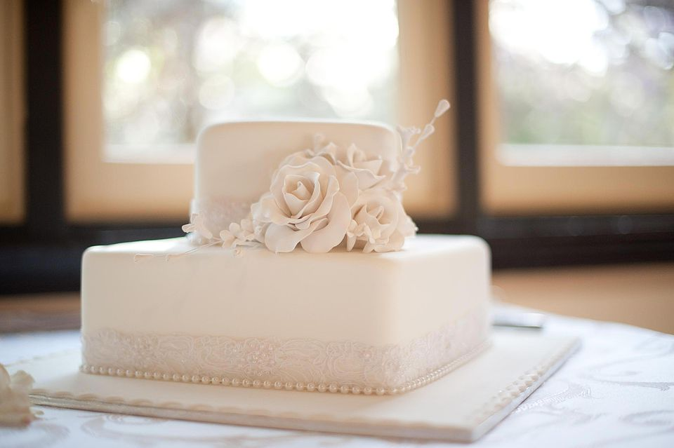 Smooth perfect fondant covered cake.