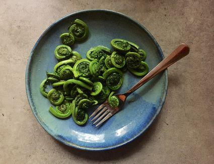 Sautéed Fiddlehead Ferns Recipe