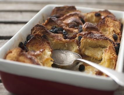 Brioche Bread and Butter Pudding
