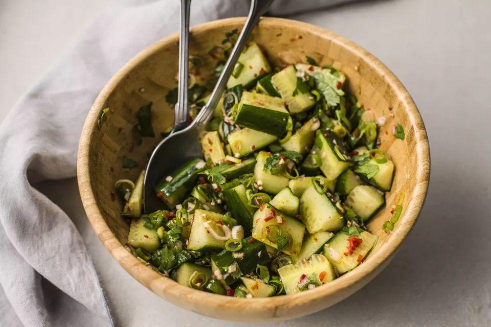 10-Minute Thai Cucumber Salad