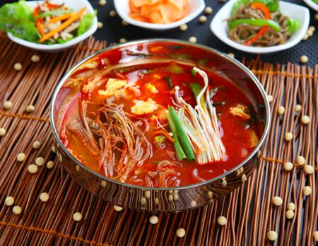 korean spicy beef soup yukaejang recipe