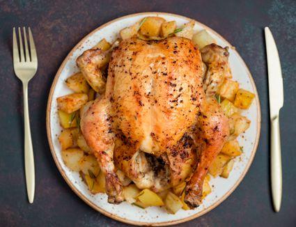 Iron skillet chicken