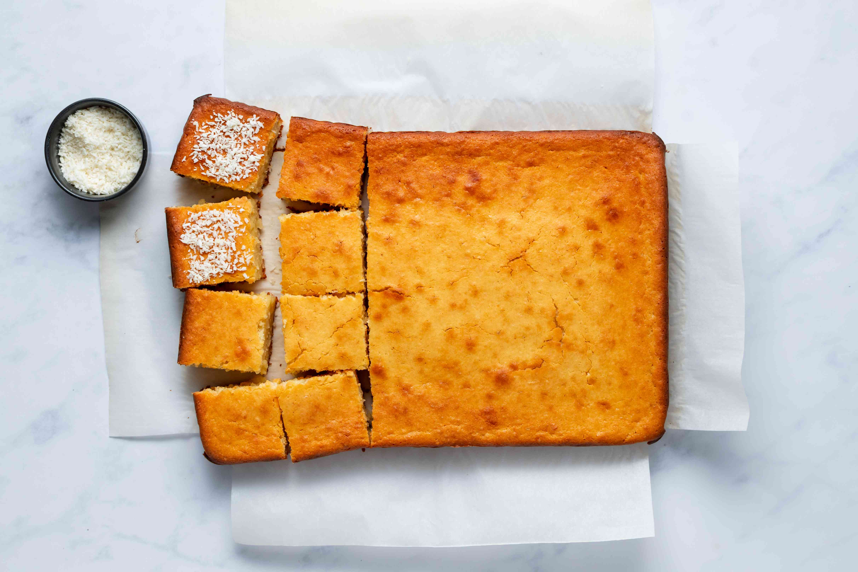 Hawaiian Butter Mochi (Mochi Cake)