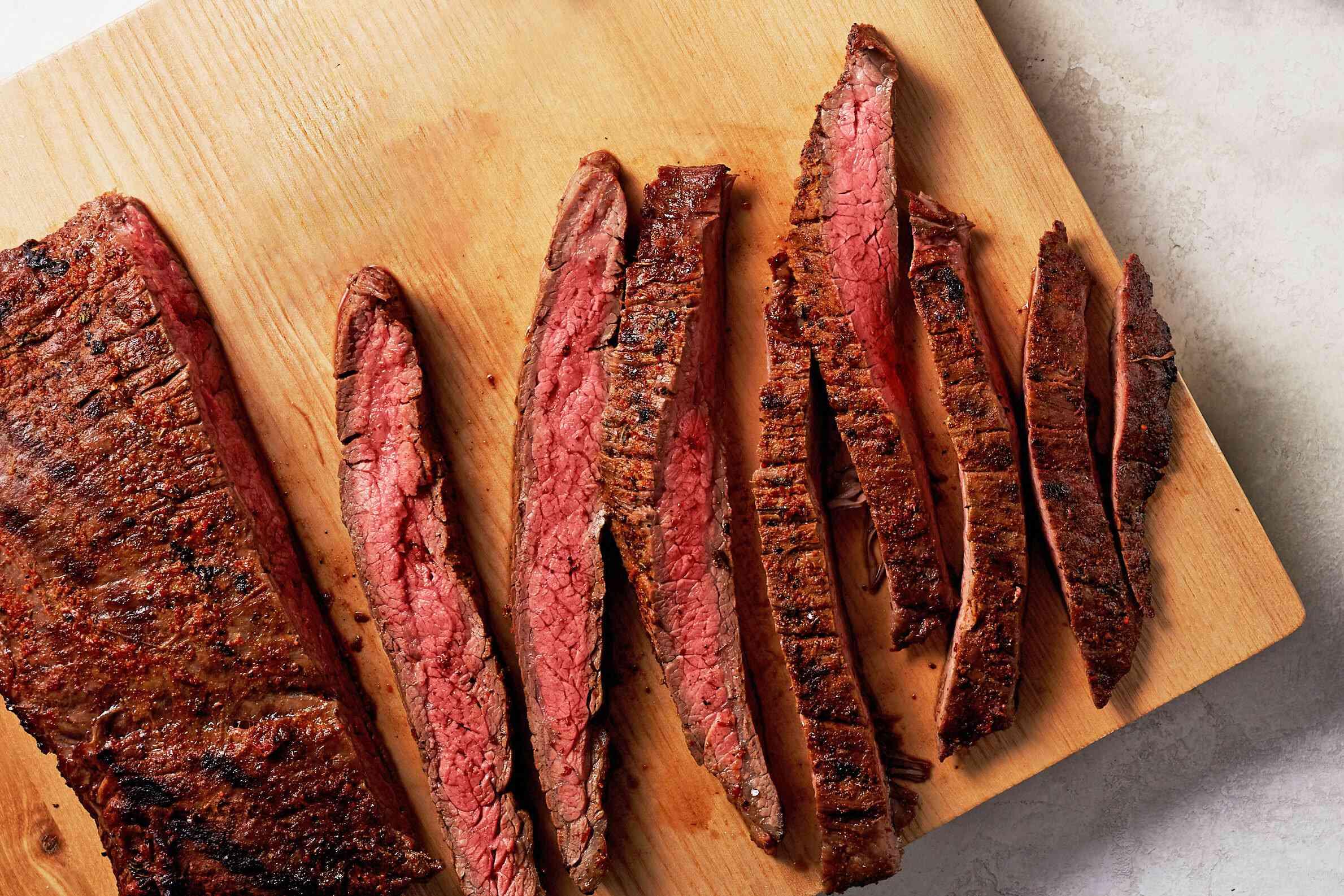 Taco-Rubbed Flank Steak