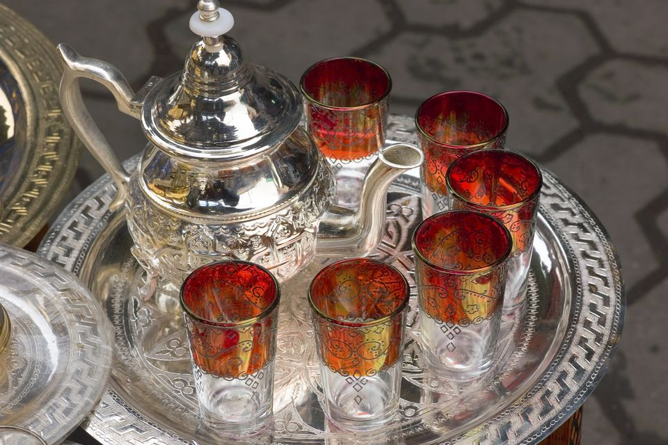 Image result for moroccan tea culture