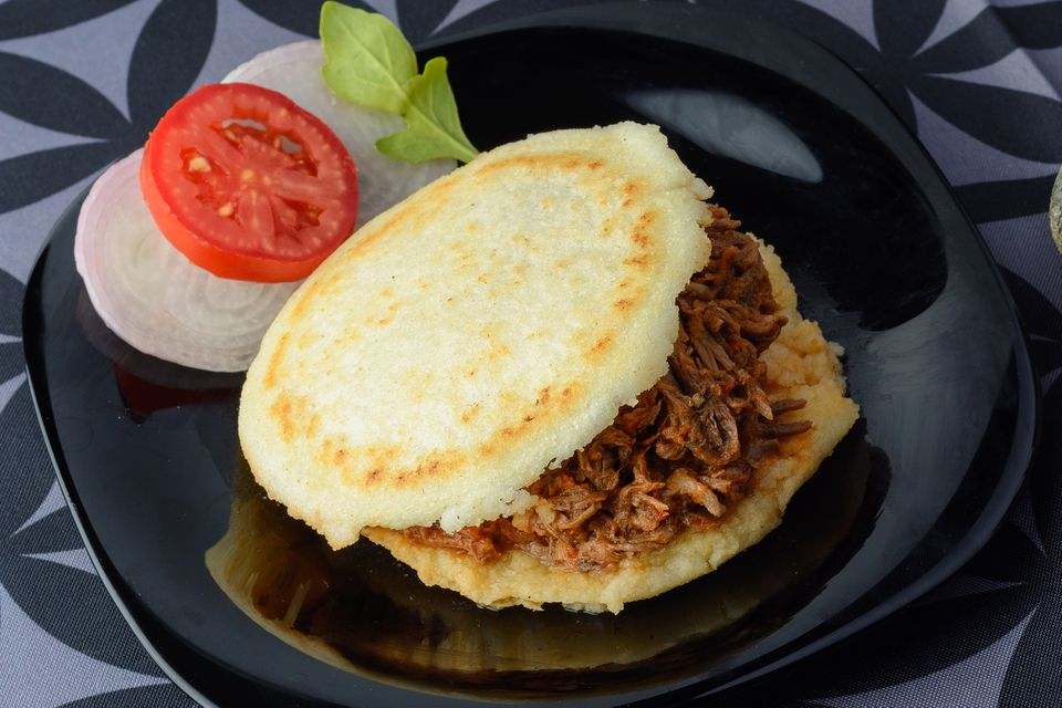 Arepas With Pulled Pork