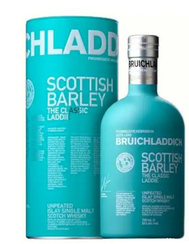 Bruichladdich Scottish Barley, Classic Laddie
