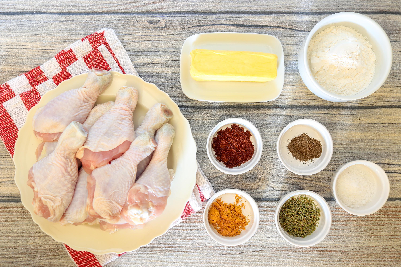 Oven Fried Chicken Drumsticks Recipe